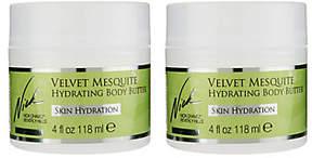 Nick Chavez Velvet Mesquite Hydrating Body Butter Duo
