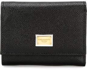 Dolce & Gabbana 'Dauphine' wallet - BLACK - STYLE