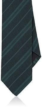 Drakes Drake's Men's Striped Silk Grenadine Necktie