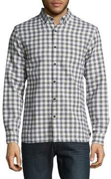 Black & Brown Black Brown Casual Button-Down Cotton Shirt