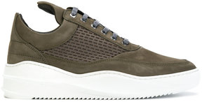 Filling Pieces mesh mid-top sneakers