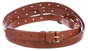 Bottega Veneta Leather Wrap-Around Belt