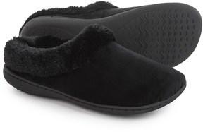 Dearfoams Microfiber Velour Clog Slippers (For Women)