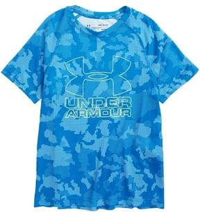 Under Armour Boy's Big Logo Print T-Shirt