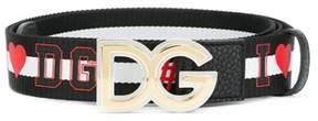 Dolce & Gabbana Dolce E Gabbana Men's Black Cotton Belt.