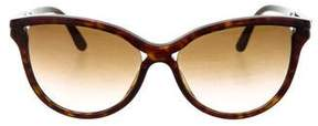 Stella McCartney Tortoiseshell Cat-Eye Sunglasses