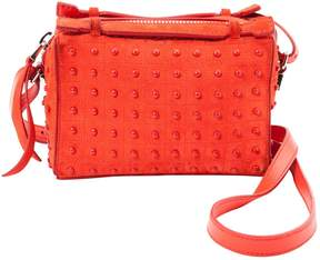 Tod's Red Suede Handbag
