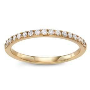 Vera Wang Simply Vera 14k Gold 1/4 Carat T.W. Diamond Anniversary Ring