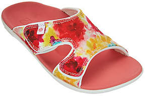 Spenco Orthotic Printed Slide Sandals - Kholo Bouquet