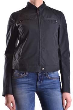 Brema Women's Black Cotton Outerwear Jacket.