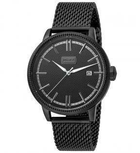 Just Cavalli Relaxed Black Dial Men's Mesh Watch
