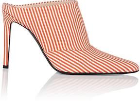Altuzarra Women's Striped Pointed-Toe Mules