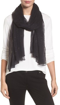 Eileen Fisher Women's Metallic Fleck Silk Scarf