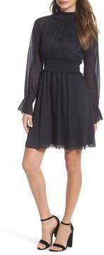 Chelsea28 Women's Smocked Long Sleeve Dress