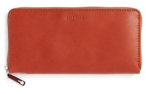 Cole Haan Men's Continental Zip Wallet - Brown