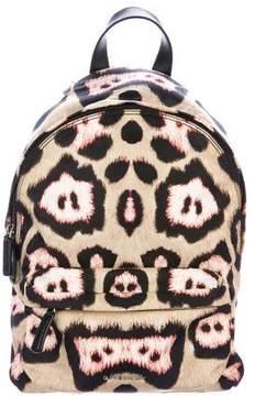 Givenchy Leather-Trimmed Jaguar Backpack