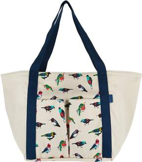 Vera Bradley Canvas Beach Shopper