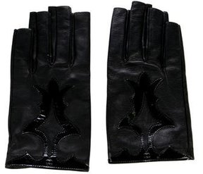 Chanel Lambskin Fingerless Gloves