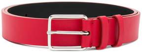 Jil Sander classic buckled belt