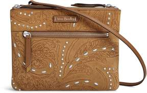 Vera Bradley Gallatin RFID Custom Crossbody - GALLATIN TOASTED HAZELNUT - STYLE