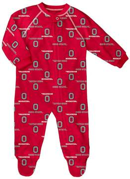 NCAA Baby Ohio State Buckeyes Team Logo Coverall