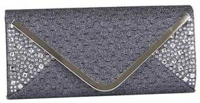 Women's J. Furmani 81340 Rhinestone Glitter Envelope Clutch