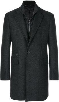HUGO BOSS internal layer overcoat