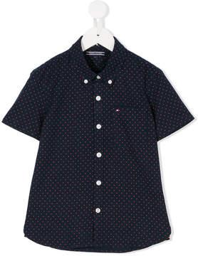 Tommy Hilfiger Junior polka dot button-down shirt