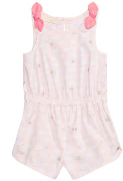 First Impressions Bow-Shoulder Cotton Romper, Baby Girls, Created for Macy's