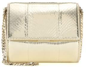 Givenchy Pandora Box Micro metallic snakeskin shoulder bag