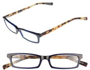 Eyebobs Men's Man Power 50Mm Reading Glasses - Navy With Tortoise