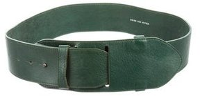 Dries Van Noten Leather Waist Belt