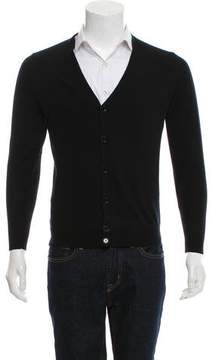 Louis Vuitton Woven Button-Up Cardigan