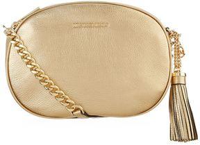 Michael Kors Medium Ginny Messenger Bag - GOLD - STYLE