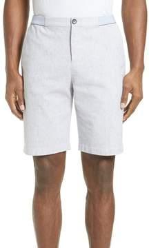 ATM Anthony Thomas Melillo Elastic Waist Seersucker Shorts