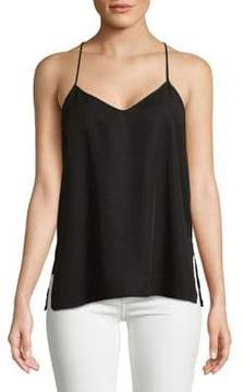 Calvin Klein Jeans Fly-Back Cotton Top