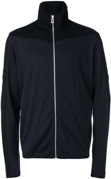 Paul Smith panelled zip cardigan
