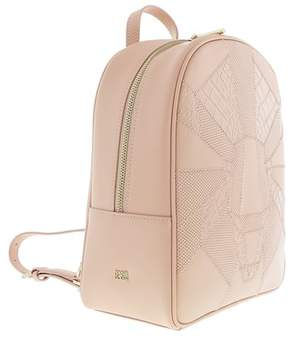 Roberto Cavalli Backpack Elisabeth 004 Nude Backpack.