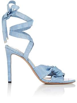 Altuzarra Women's Zuni Eel-Skin Sandals