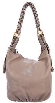 Givenchy Fringe Leather Hobo