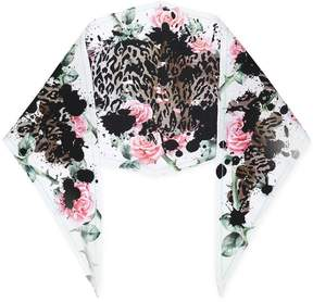 Haider Ackermann patterned neck scarf