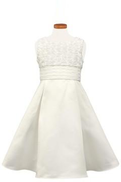 Sorbet Girl's Rosette Sleeveless Dress