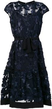 Class Roberto Cavalli floral tie waist dress