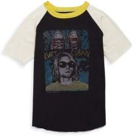 Rowdy Sprout Toddler, Little Boy's & Boy's Kurt Cobain Tee