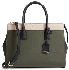 Kate Spade Cameron Street - Candace Leather Satchel - Green