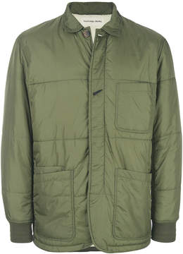 Universal Works quilted fitted jacket