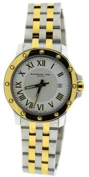 Raymond Weil Tango Two Tone Stainless Steel 39mm Mens Watch