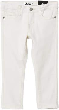 Molo White Star Alfi Woven Jeans