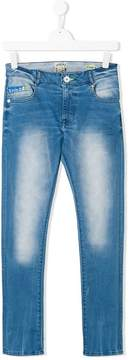 Vingino TEEN distressed-effect jeans