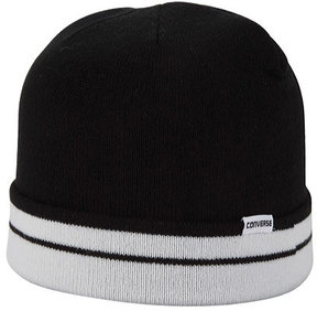 Converse Stripes Flat Knit Beanie